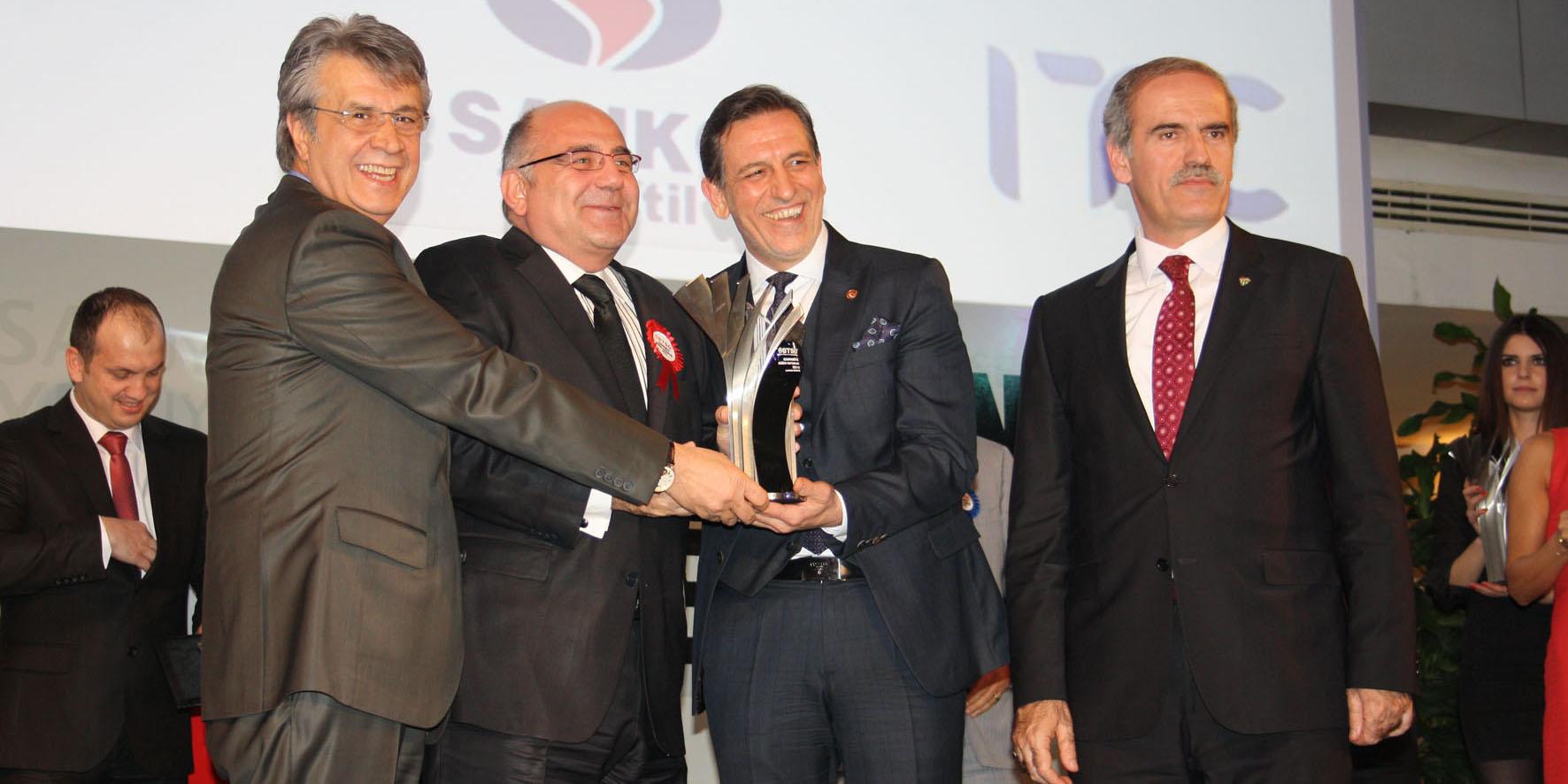 Bosch Rexroth'a Ekonominin Oscar'larından İkincilik Ödülü