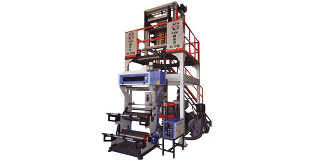 OZM- Ø60 HL 1100 HDPE LDPE Film Makinesi