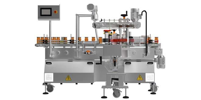 E-40 Kavanoz ve Şişe Etiketleme Makinası