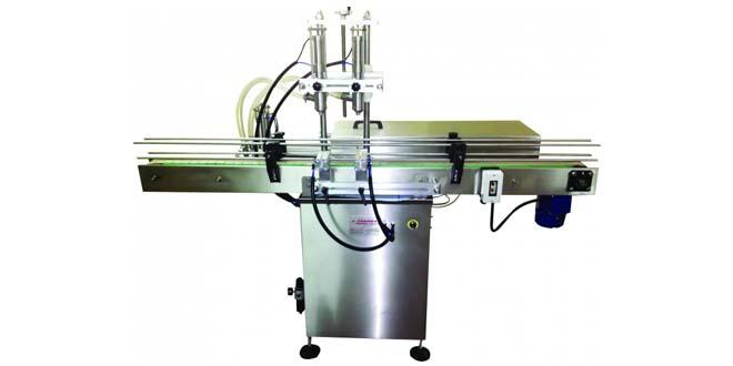 2 Nozullu Ootomatik Pnömatik Dolum Makinesi