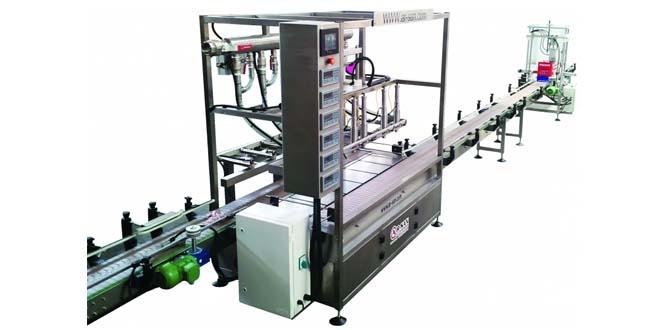 6 Kafalı Loadcelli Otomatik Dolum Makinesi (17 LT)