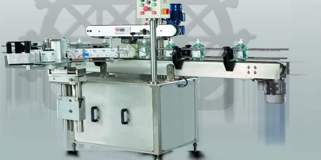 HM OÇTEM 100 - Tam Otomatik Çift Taraflı Şişe Self Etiketleme Makinası