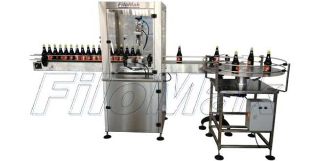 Filomak - Otomatik Vidalı Kapak Kapatma Makinesi