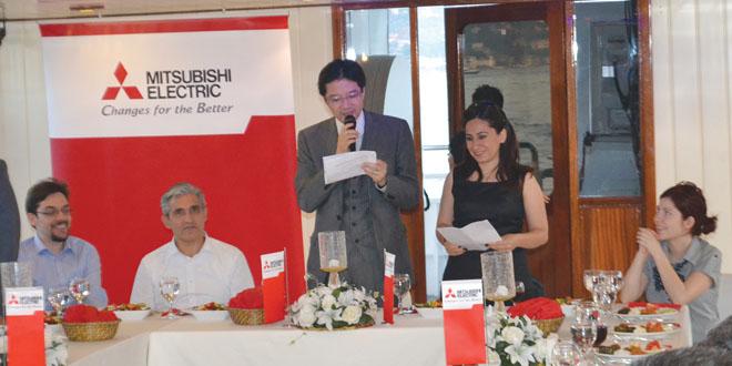 Mitsubishi Electric Türkiye'nin Sektörel Basın Buluşması Boğazda Gerçekleşti