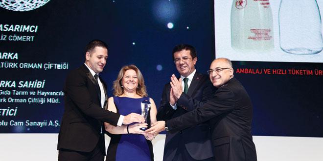 Anadolu Cam'a 'Design Turkey'den iki Tasarım Ödülü