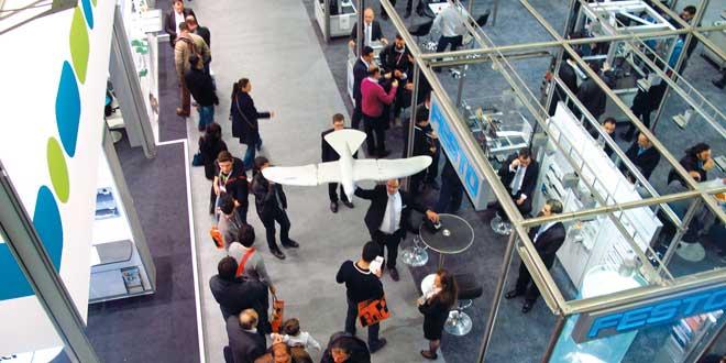 Festo, WIN Otomasyon Fuarı'ında AquaJelly ve SmartBird'ü Sergiledi