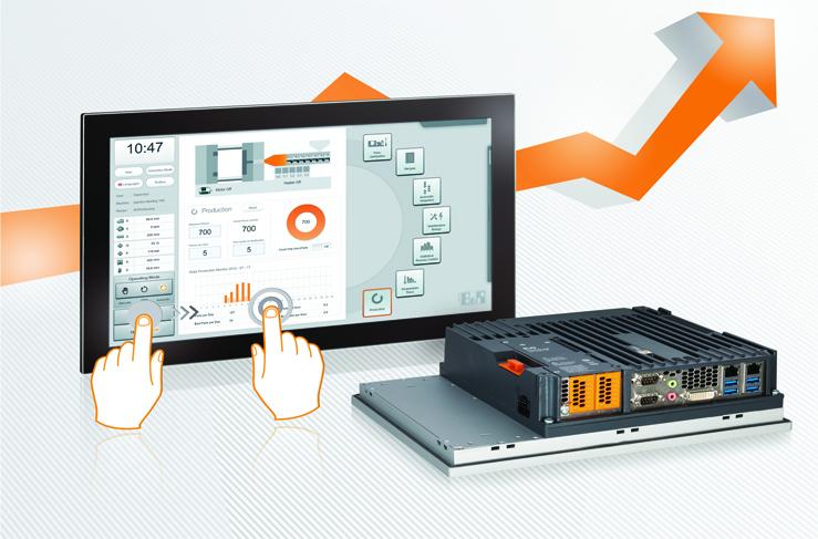 Multi-Touch Özellikli Panel PC 900: B&R'dan Yeni Bir Amiral Gemisi