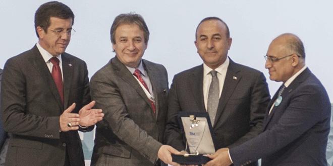 Türkiye İhracatçılar Meclisi'nden (Tim) Şişecam Topluluğu'na Ödül