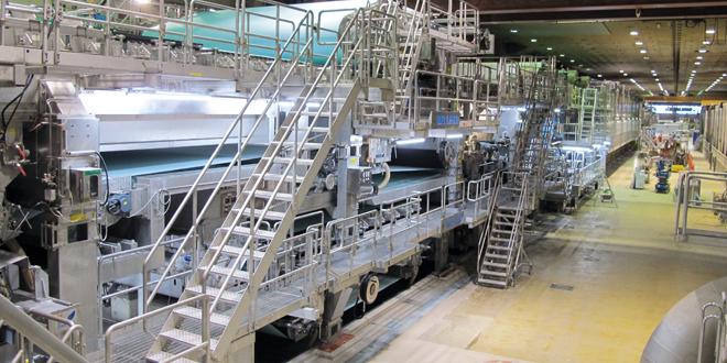 Kotkamills'in yeni ambalaj ve gıda karton makinesi üretime başladı.