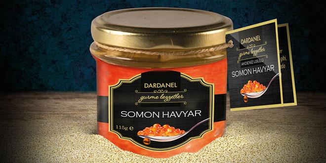 Dardanel'den Yeni Gurme Lezzet Somon Havyar